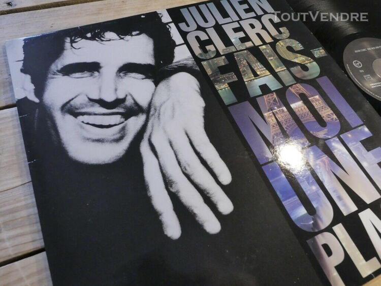 Julien clerc fais moi une place lp 33t vinyle ex cover ex or