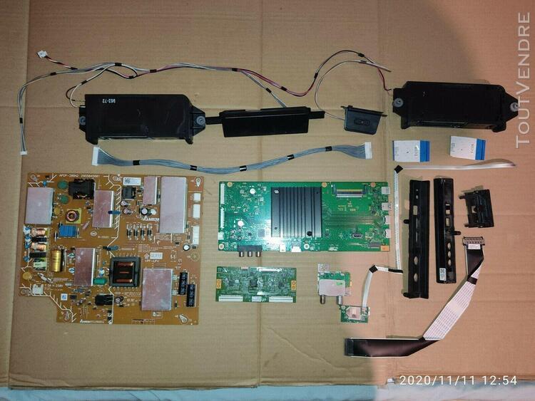 Lot de pièces détachées pour tv sony kd- 55e7077