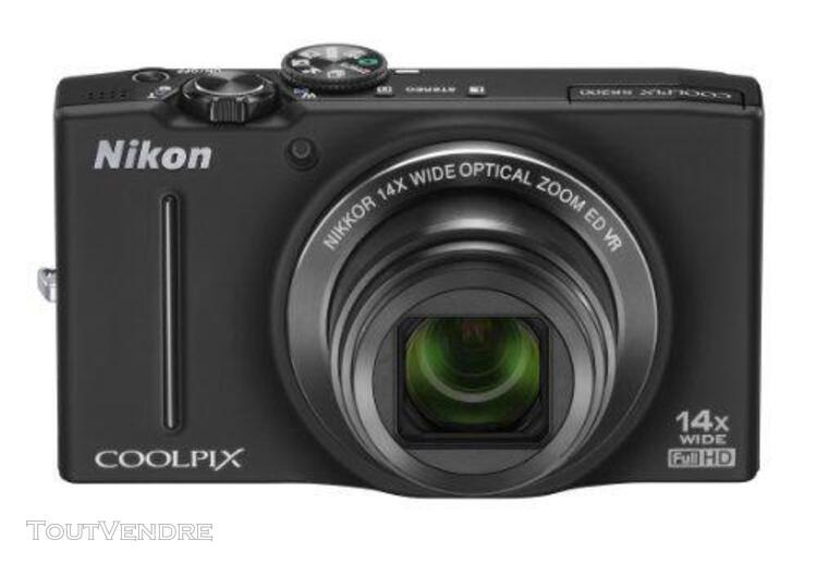 Nikon appareil photo numérique coolpix (coolpix) s8200 noir