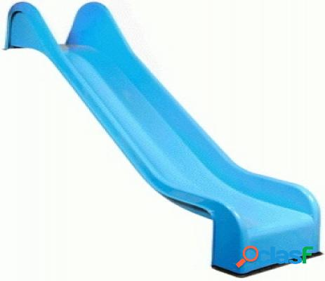 Toboggan bleu aire jeux portique 325cm