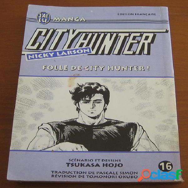 City hunter, nicky larson n°16 - folle de city hunter !, tsukasa hojo
