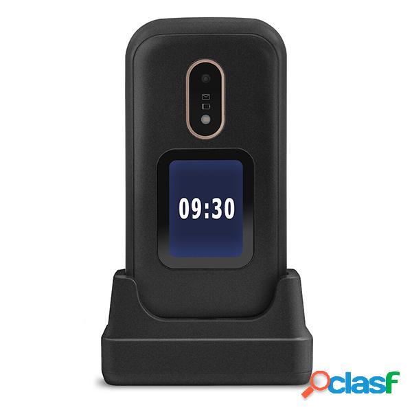 Téléphone portable doro 6060 avec couvercle noir