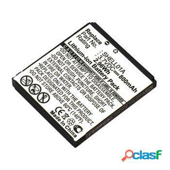 Batterie otb pour doro phoneeasy 409, 409gsm, 410, 410gsm, 610, 610gsm