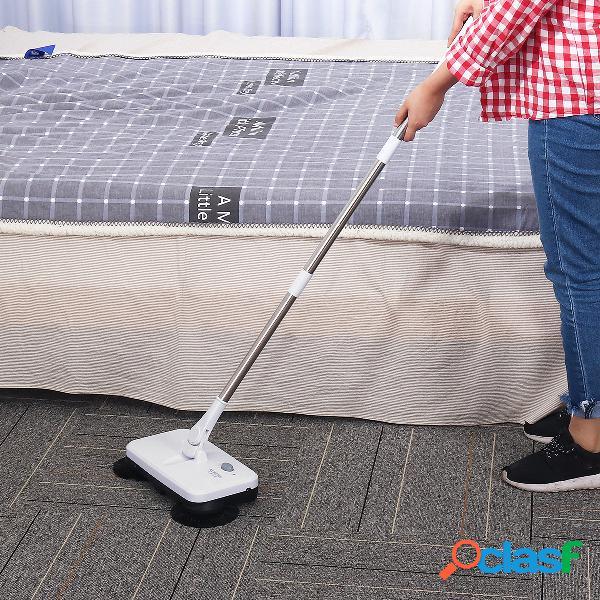 Nettoyage de la poussière de sol de ménage de balai de balai électrique rechargeable sans fil