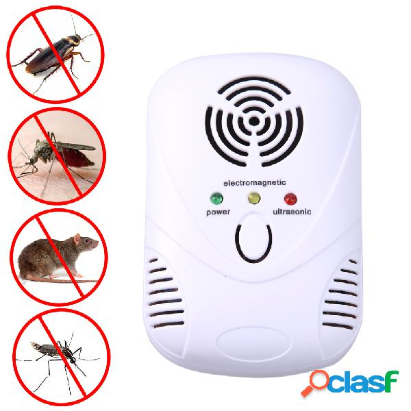 Tueur de souris électronique à ultrasons souris cafard piège moustique répulsif insectes rats araignées contrôle