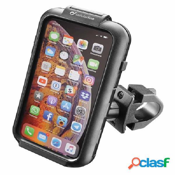 Interphone porteur iphone xs max, support smartphone et gps voiture, moto