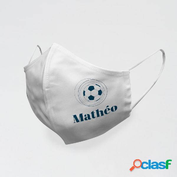 Masque personnalisé football - communion
