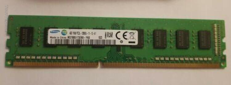 4gb 1rx8 pc3l 12800u memoire ram ddr3