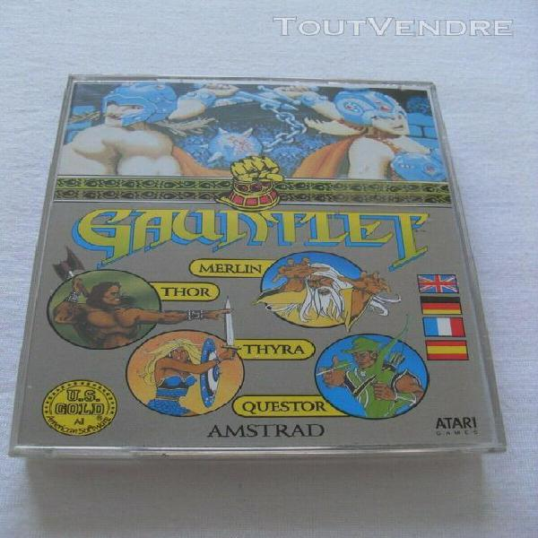 Gauntlet jeu amstrad cpc version cassette complet en bon