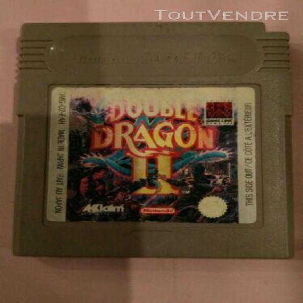 Jeux nintendo double dragon ii pour game boy color