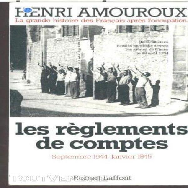 La grande histoire des francais sous l'occupation - tome 9,