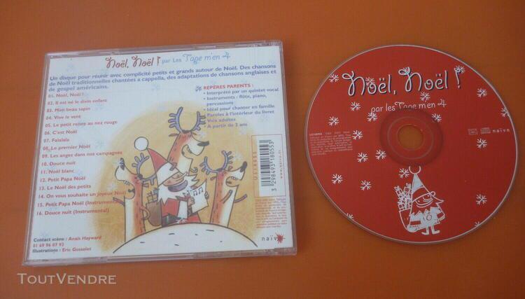Noël, noël ! tage m'en 24 classiques voix swing cd album