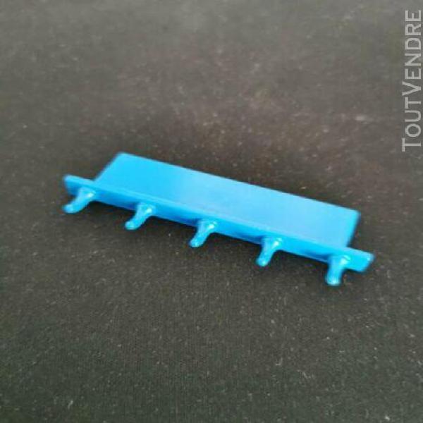 Playmobil porte manteau bleu maison moderne
