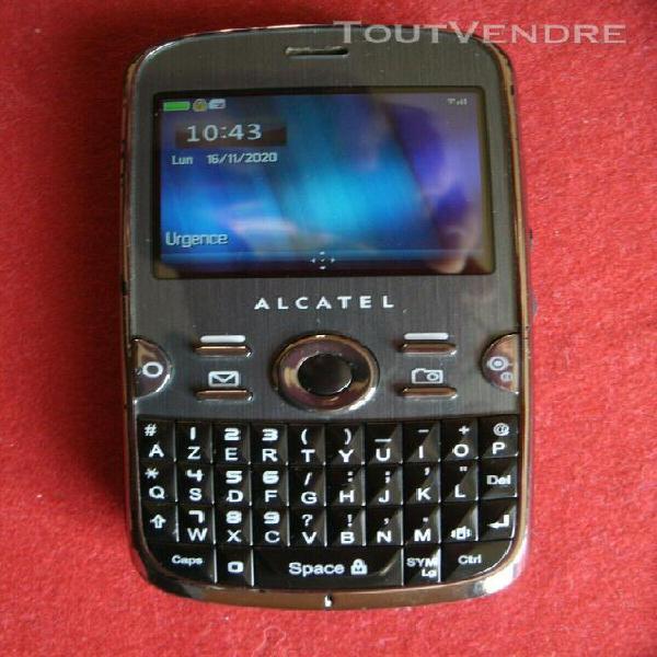 Téléphone portable alcatel ot-799 débloqué tous