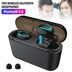 Tws casque sans fil bluetooth 5.0 mini écouteurs écouteurs