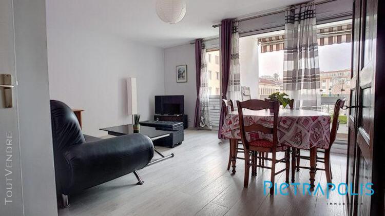 Appartement t3 de 78,40 m² secteur la villette + garage