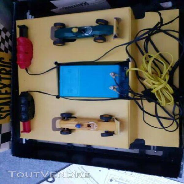 Circuit scalextric meccano tri-ang 30t b vintage années 60
