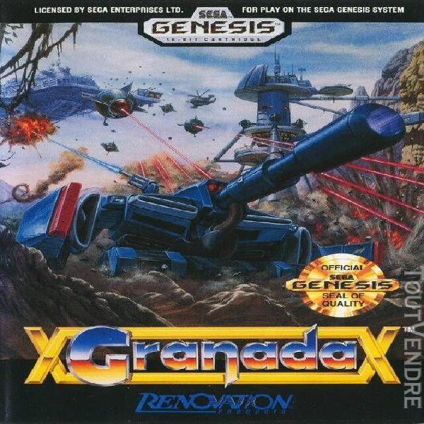 Granada - sega genesis (megadrive version usa)