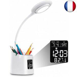 Lampe de bureau led, usb rechargeable étude lumière, 3