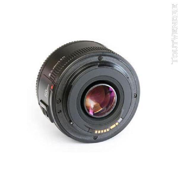 Objectif af canon 50mm f1.8 yongnuo noir