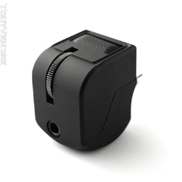 Prise audio 3,5 mm pour adaptateur casque ps4 avec contrôle