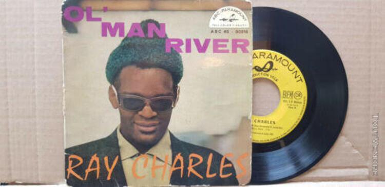 Ray charles – ol' man river 45t g++/g+ paramount –