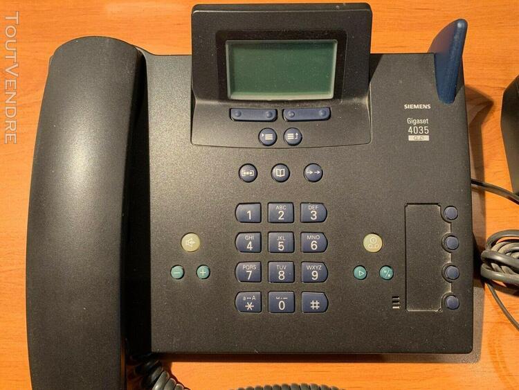 Téléphone siemens gigaset 4035