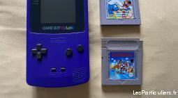 Game boy color pocket bleu nintendo