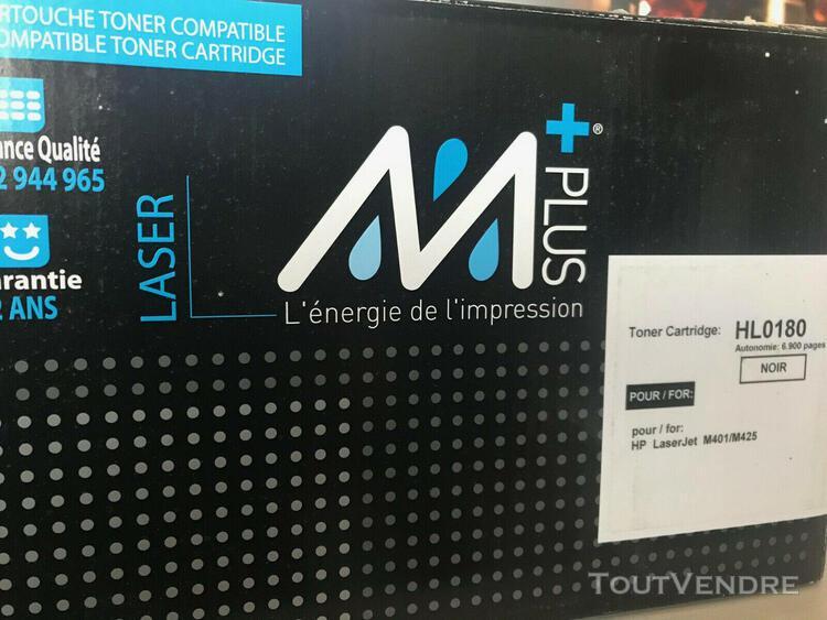 Toner laser noir 6900 pages compatible pour hp laserjet m401