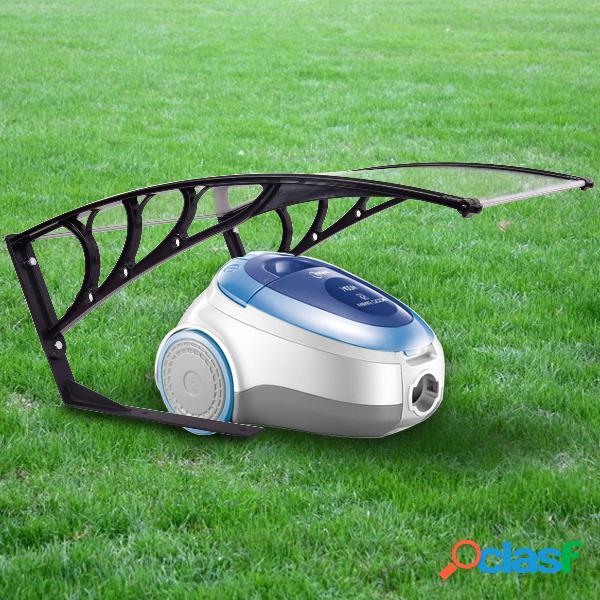 Costway garage pour tondeuse à gazon toit de protection 103 x 79 x 46 cm abri pour robot tondeuse avec protection contre soleil et intempéries