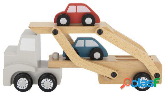 Hema camion avec voitures en bois