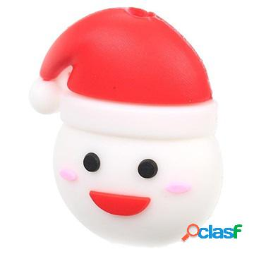 Christmas themed plastic cable protector - snowman