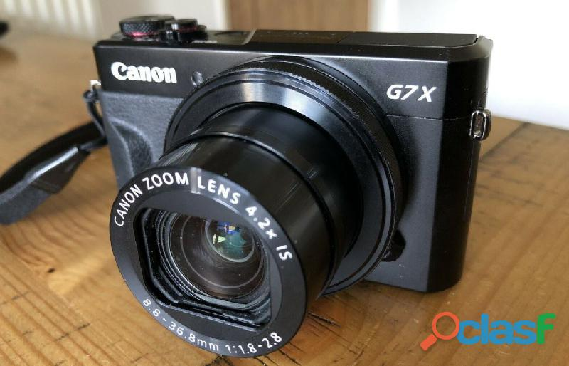Appareil photo compact G7X mark II