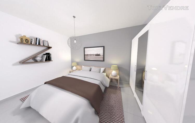 Appartement t4 de 81m² + une terrasse de 16m² sud au