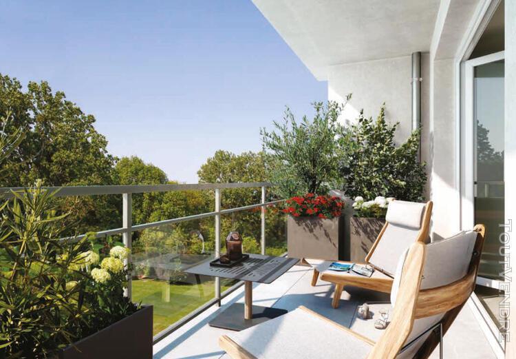 Appartement t4 de 86m² avec jardin de 141m² et 2 parkings
