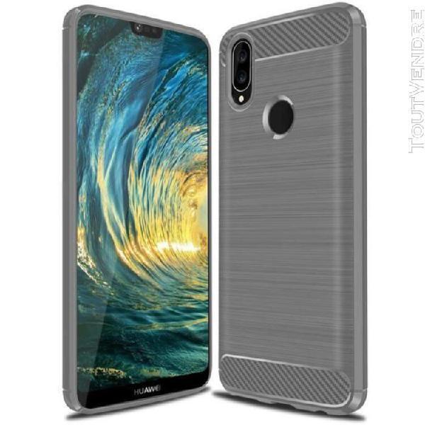 Huawei p20 lite coque - silicone slim tpu et antichoc coque