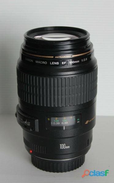 Objectif Canon EF 100 mm f:2.8 macro USM