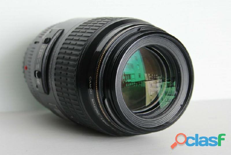 Objectif Canon EF 100 mm f:2.8 macro USM 1