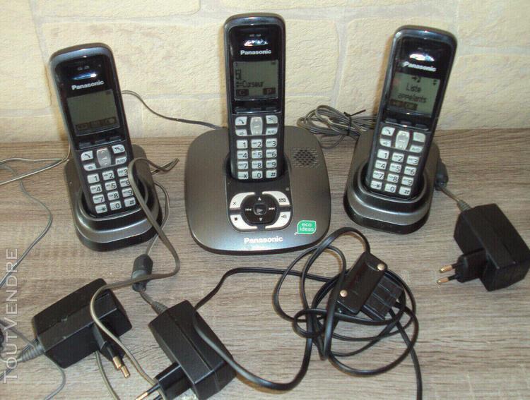 Panasonic modèle kx tg6421fr téléphone sans fil avec