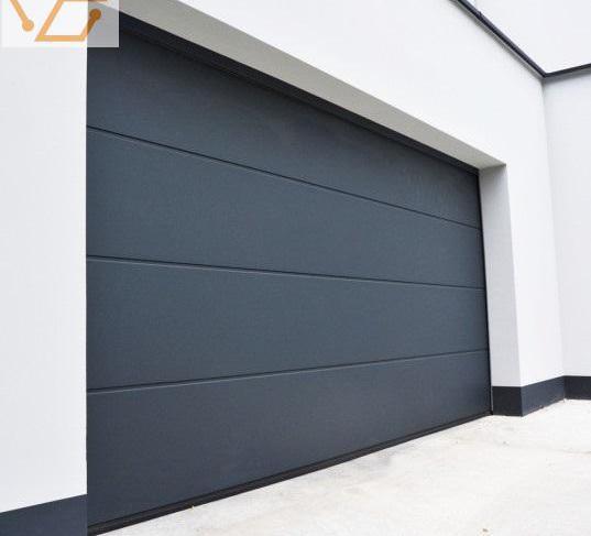 Porte de garage sectionnelle isolée 45mm