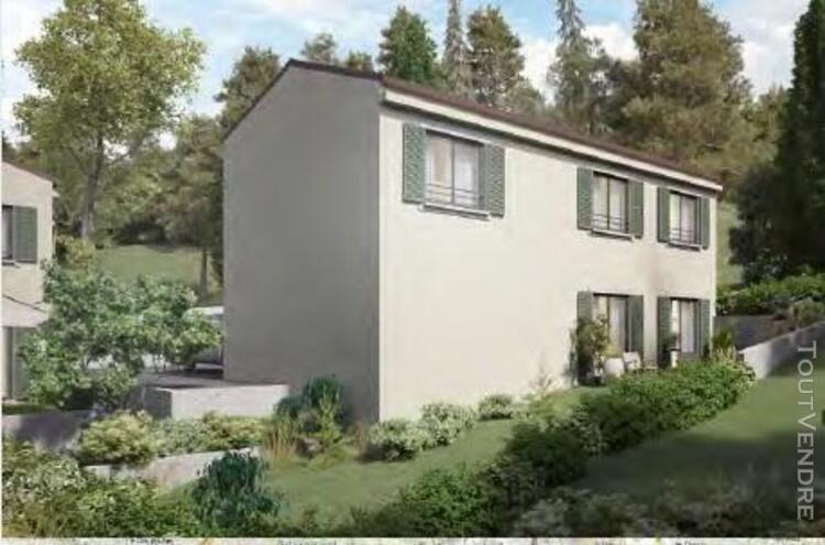 Villa t4 r+1 de 102 m² avec garage et jardin à simiane