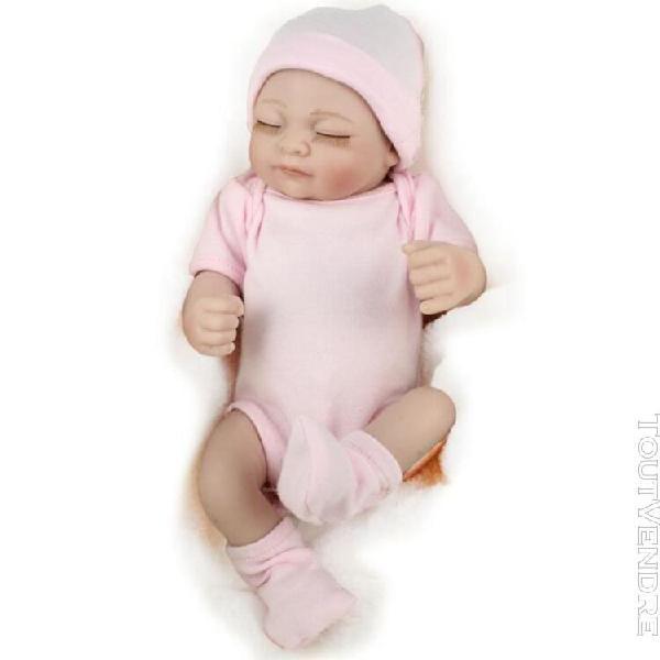 10 pouces poupée nouveau-né bébé réaliste fille jouet