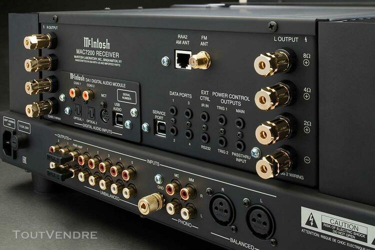 Amplificateur intégré mc intosh - mac 7200