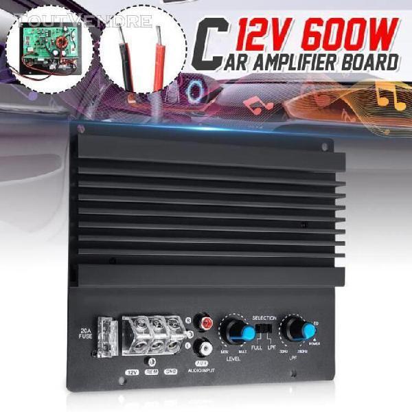Amplificateur mono panneau voiture auto - 600w - 170x145mm