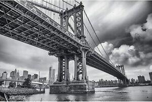 Great art xxl affiche – pont de manhattan, new york, 88 -
