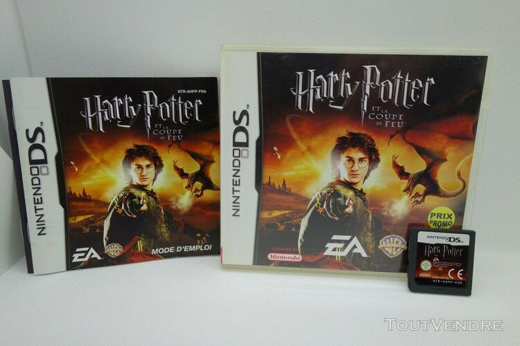 Harry potter et la coupe de feu / nintendo ds / complet / pa