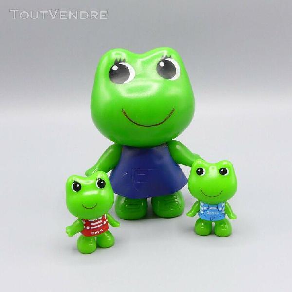 Kawaii retro figurines koro chan et kero chan avec leur mama