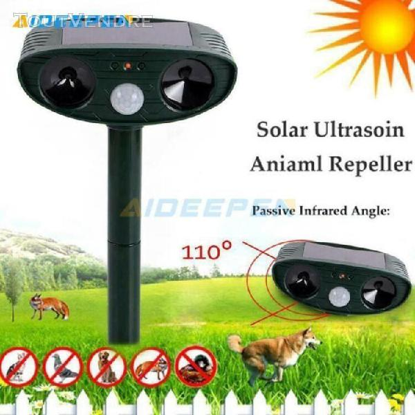 Répulsif chat ultrason solaire, répulsif chat exterieur