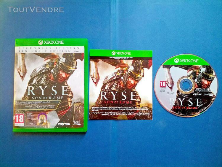 Ryse: son of rome - legendary edition - import uk - dlc non
