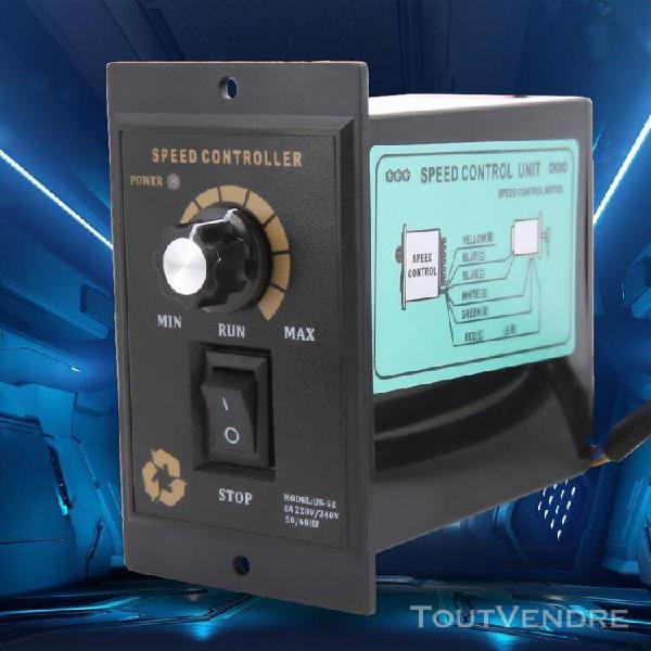 Variateur regulateur de vitesse regime moteur ac 220v 50 / 6